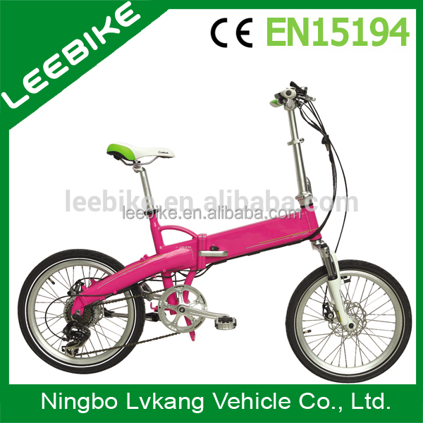 Bike with en15194 cheap electric bike for sale b2-fc20 brushless folding carbon pit bike ce fatory