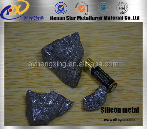high pure good quality metal silicon for deoxidizer