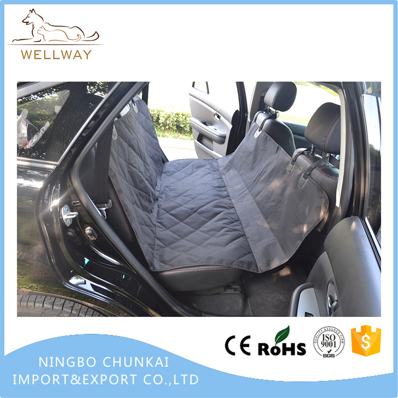 Dog Car Seat Cover With Side Flaps, Pet backseat cover WaterProof & NonSlip Hammock
