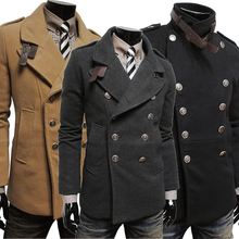 walson Men's fashion classic double-sided double-breastedmens fashion coat 2014