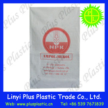 China PP Woven Bag/Sack for 50kg cement,flour,rice,fertilizer,food,feed,sand bag