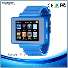 Big Sreen Digital Multimedia Q5 Watch Mobile Phone for Avatar Et1 with SIM Card, Pedometer, Sleep Monitor