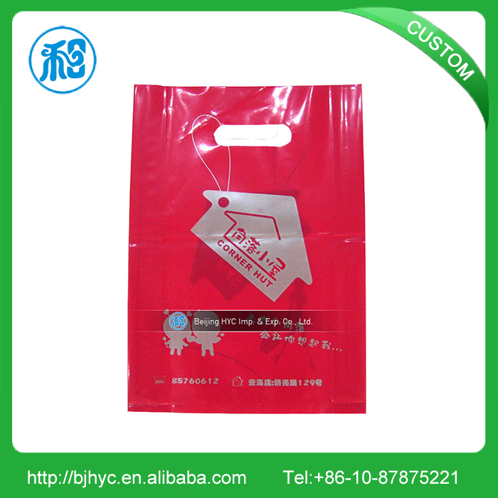 Alibaba China manufacturer cheap custom cardboard insert for rigid loop plastic handle shopping bags