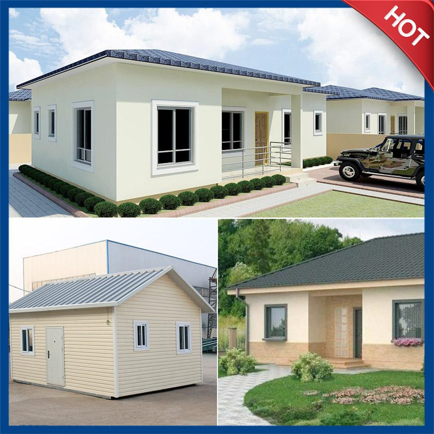 dye prefab house with custom color and sizes support personal design