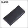 Fashion Black cow leather wallet new genuine leather wallet for men