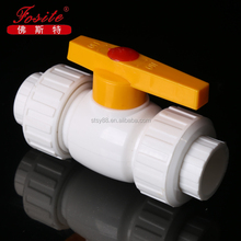 China High Quality PPR Pipe Fitting of Double Union Steel Ball Valve