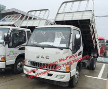Light JAC Cargo Truck with Dump Flat Bed Tray Truck Price for Sales