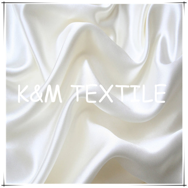 White silk for dyeing digital print silk fabric satin