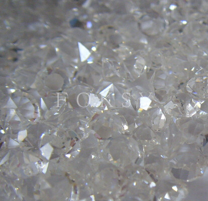 2mm Clear Acrylic point back rhinestone wholesale