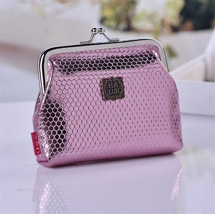 Low price dazzling cool fashion fancy small ladies coin purse