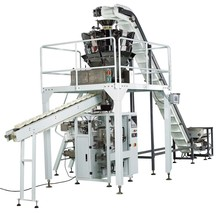 2015 CYL-900D Multihead weigher automatic packing machine for rice/bean/cracker/biscuit/mushroom/dumpling