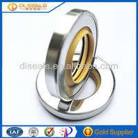 Stainess steel automobile black Rubber Lip rotary oil Seals