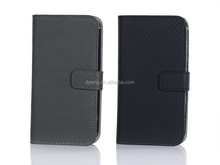 Hot sale cross stitch genuine leather phone case for samsung galaxy s i9000
