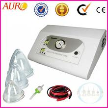 AU-8204 CE Pass Vacuum Massage Cup with Whilt Cup Breast Enlargment Machine