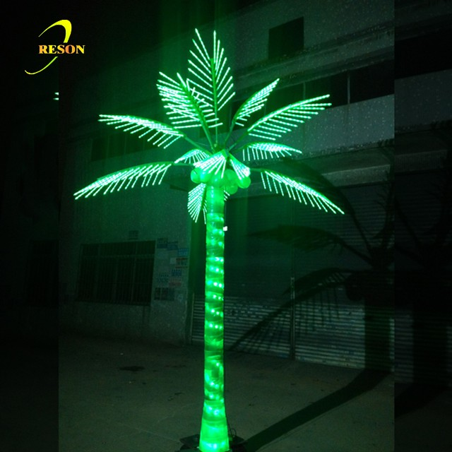 christmas decorative coconut tree artificial tree stumps palm tree leaves