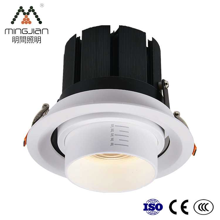 Good Price CE ROHS 20W 30W Dimmable 145Mm Cutout COB Ceiling Recessed Spot Light LED <strong>Spotlight</strong>