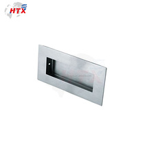 High speed polish oval flush door handle sample made in china
