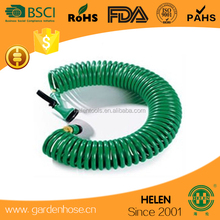 20m Recoil Hose Complete with Joints Flexible Expandable Coil Hose+spray gun ideal to water the garden