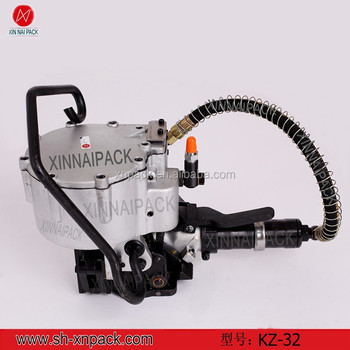 KZ-32 steel pipe pneumatic metal packing machine
