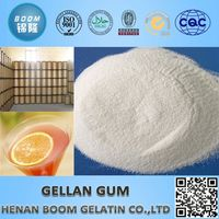 Naturally sourced material edible gellan gum