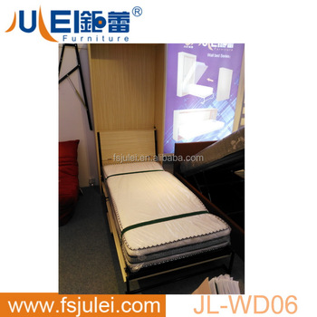 Single Size Pull Down Hidden Wall Bed