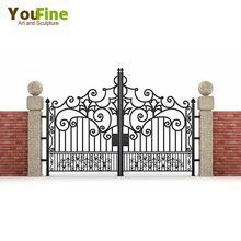 New Design House Used Simple Wrought Iron Gate For Sale