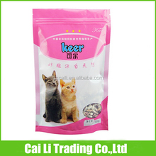pet food packing high quality polythene stand up pouch