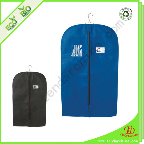 Used For Shopping OR Traveling Non Woven Men's Suit Cover