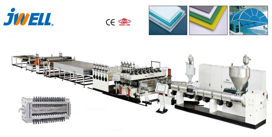 JWELL - Transparent casting acrylic/plexiglass/plastic boards production line