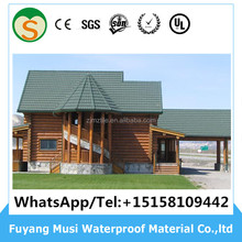 Kerala stone coated metal roof tile for house roof with South Korea Standard