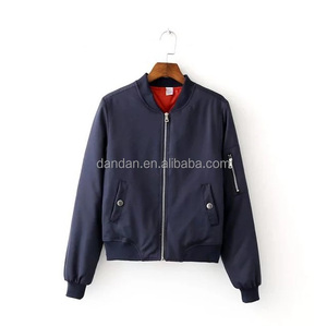 Unisex cotton baseball sportswear outdoor winter bomber jacket