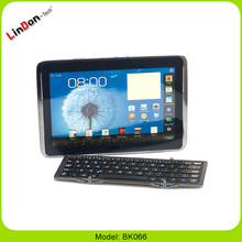 OEM Wholesale Foldable Mini Wireless Bluetooth Keyboard for Tablet PC BK066
