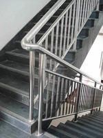 Stainless steel handrail staircase railing