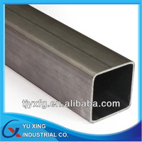 ASTM A53 Black Annealed Or Galvanized Welded Square Steel Pipe