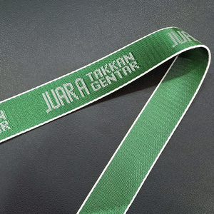 custom printed polyester nylon tube upholstery webbing strap for safety belt