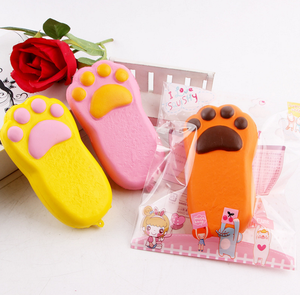 Mskwee Slow Rising Animal Toy Foot Squishies 2018 New Model Toy Bear Paw Squeeze Scented Kids Toy For Stress Relieve Kawaii Paw