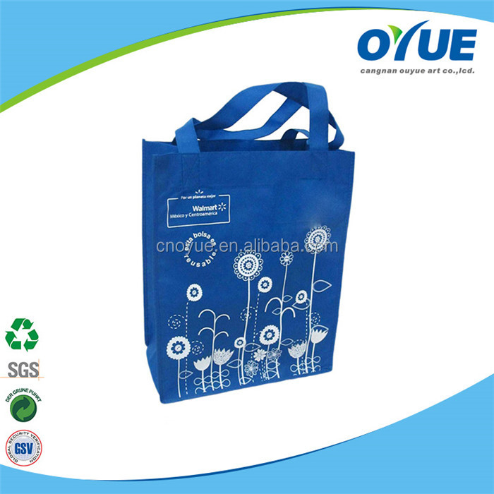 Durable Printing Custom fashion non woven tote bag