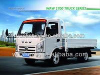WAW Light Truck With Good Performence 2.5ton Loading Capacity
