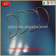 top selling spring steel stainless steel retaining spring clips OEM in china