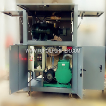 Power Equipment Vacuum Impregnation And Dewatering System/Vacuum Pump Double Stage Drying/Vacuum Dehydrator