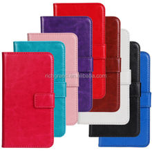 Luxury Magnetic Flip PU Leather Slot Wallet Cover Case For LG Optimus L5 II E450 E460