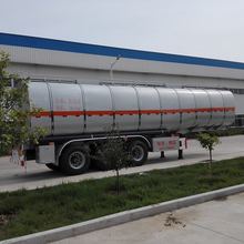 60000L oil/fuel tanker semi-trailer /45000L oil tank truck trailer for africa