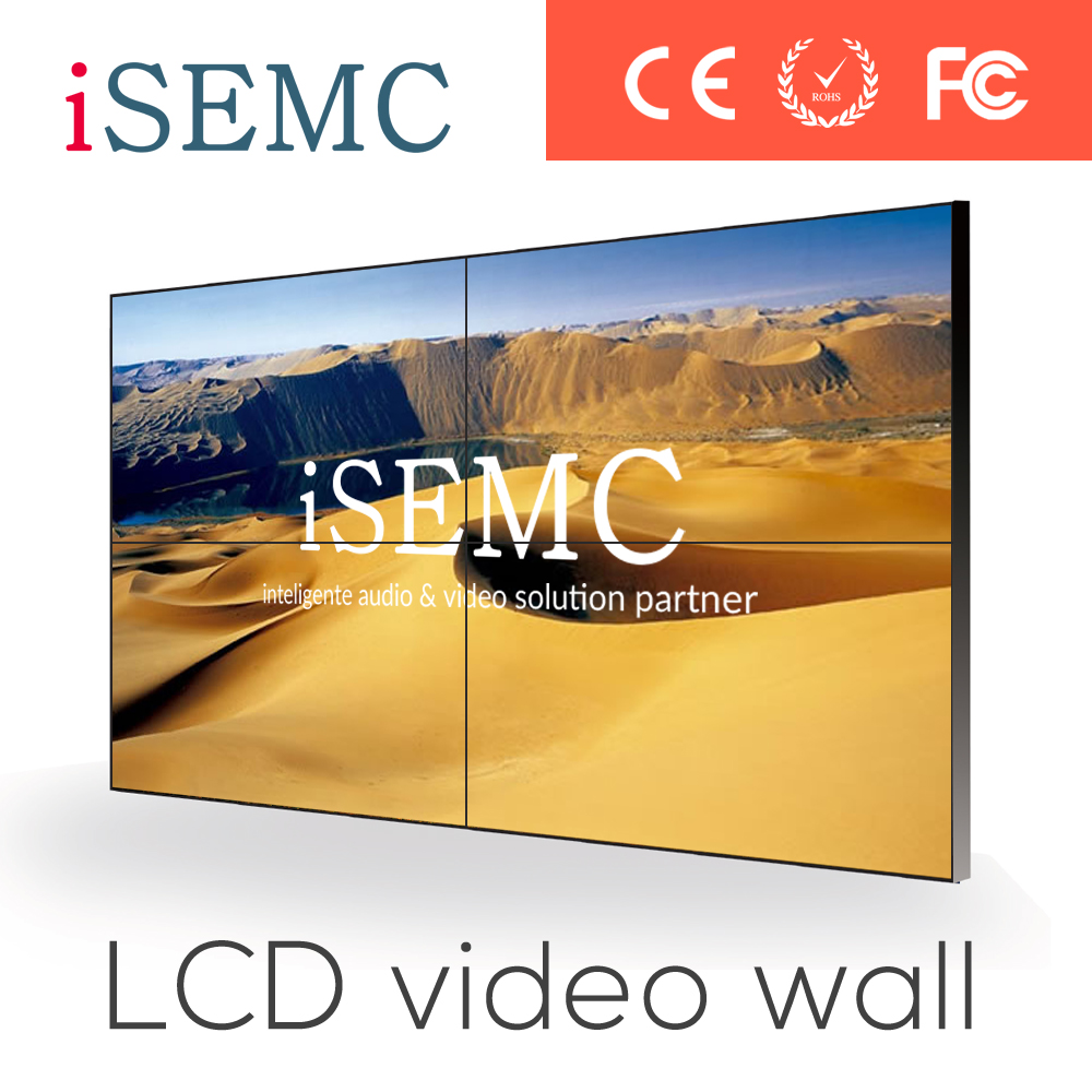 Full HD LCD Panel Video Wall Distribution Software