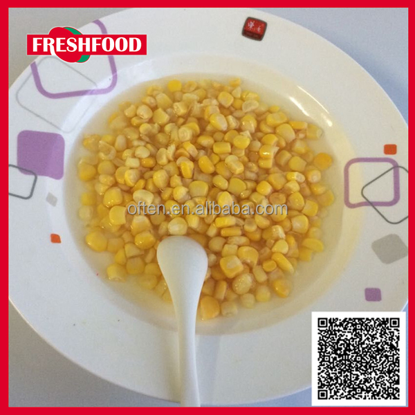 All types of canned corn non gmo canned corn Canned Sweet Kernel Corn & Frozen
