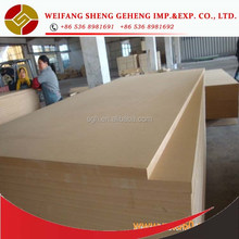 Fire rated laminated mdf board with made in China