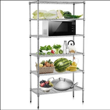 NSF Approval Stainless Steel Kitchen Wire Shelf , Hot Sale for 60 Countries