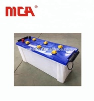 MCA automotive lead acid car truck starting 12v 120ah dry charged car battery