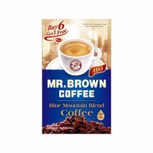 MR. BROWN instant <strong>coffee</strong> 3 in 1 sample
