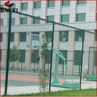 High Quality Flexible Safety Fencing Removable Chain Link Fence