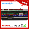 LED Backlit Running Blue Switches RGB Mechanical Gaming Keyboard